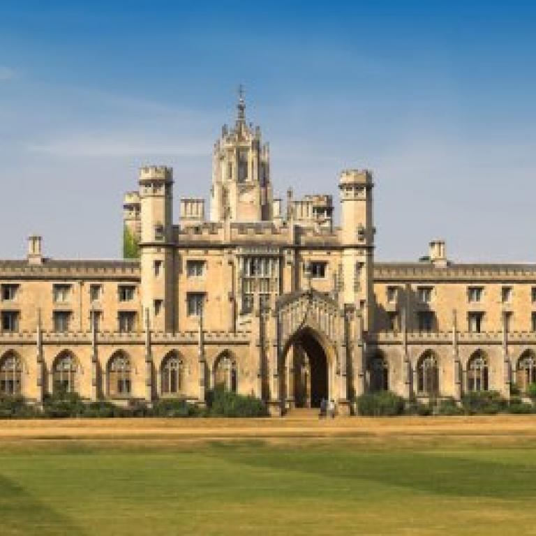 to the university of cambridge